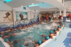 Novembre 2016 al Columbus Thermal Pool la Nazionale di Rugby delle Isole Tonga in Relax